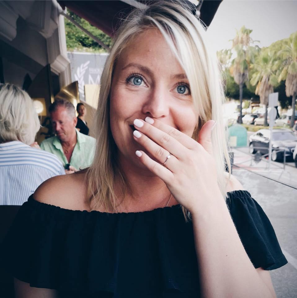 Johanna förlovad, 17/7 2018